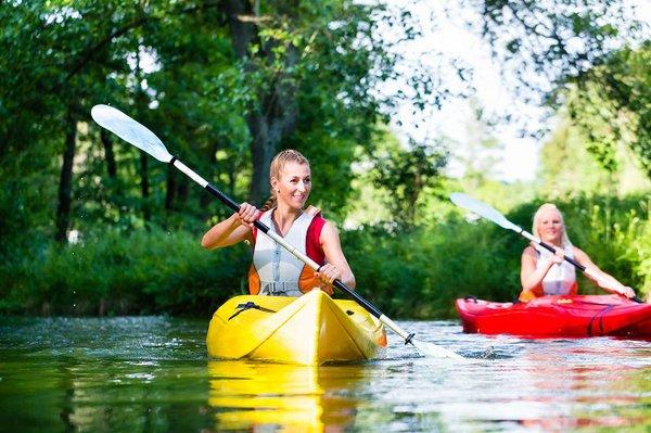 Kayaking Bon Secour in Alabama