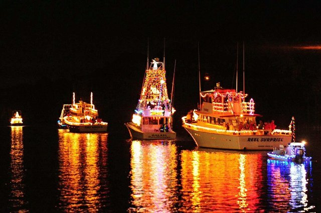 Lighted Boat Parade Event in Gulf Shores