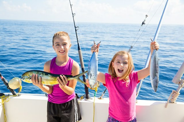 Saltwater & Deep sea charter fishing in Gulf Shores and Orange Beach