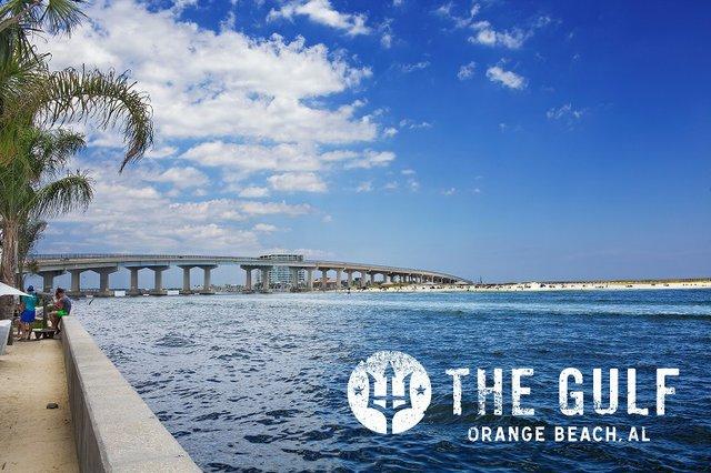 View from The Gulf restaurant in Orange Beach, Alabama