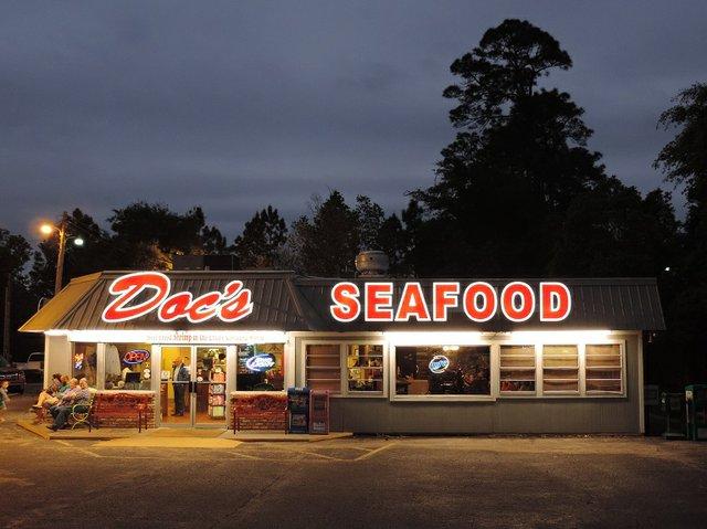 Docs Seafood Shack in Orange Beach