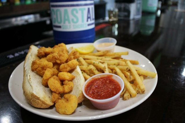 COASTAL Stuffed Shrimp PoBoy