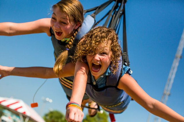 Think you are brave enough not to scream on the Sky Coaster?