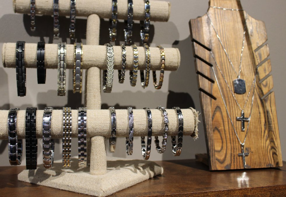 Braclets and Cross Necklaces up close IMG_1714.jpg