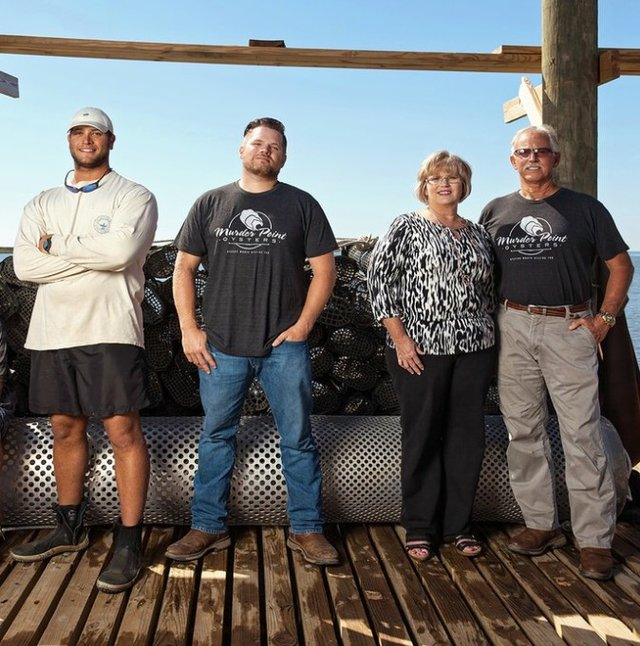 The Zirlott Family of Murder Point Oyster Company