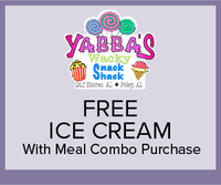 Yabba's Wacky Snack Shack - Free Ice Cream