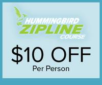 Hummingbird Zipline
