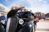 Labor Day Car Show - black-car-streets.jpg