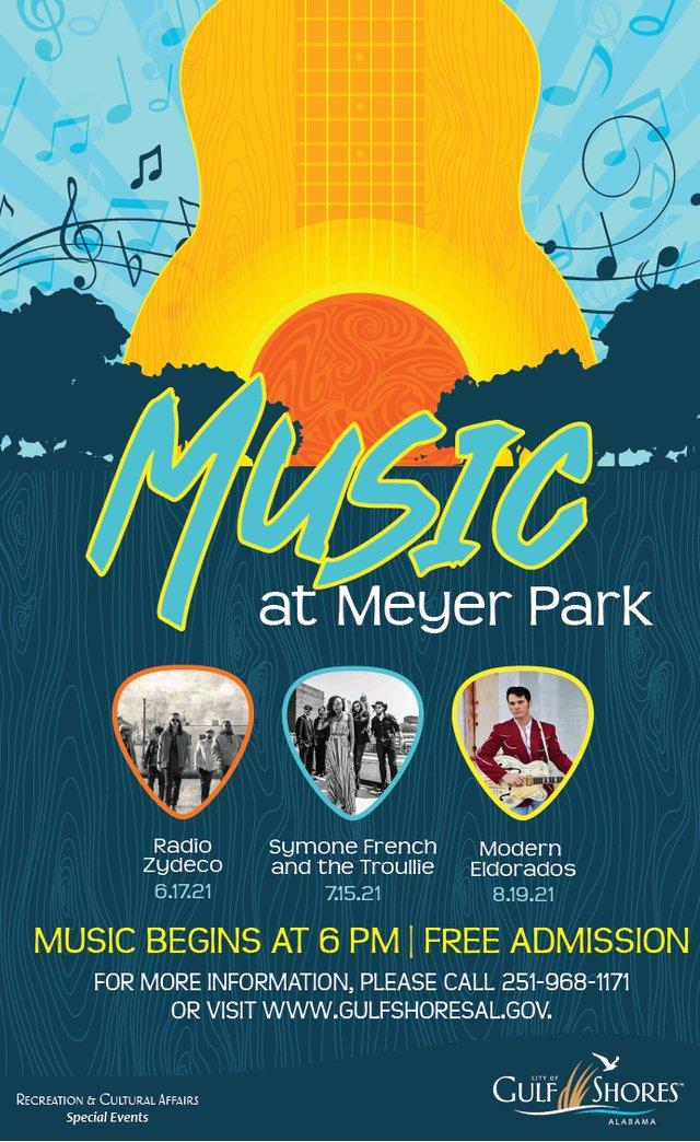 Music at Meyer Park 2021 Summer