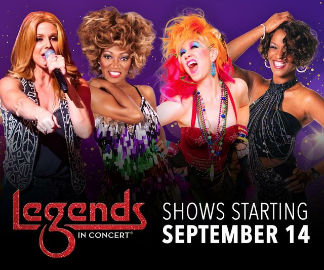 Legends in Concert Girls Just Wanna Have Fun
