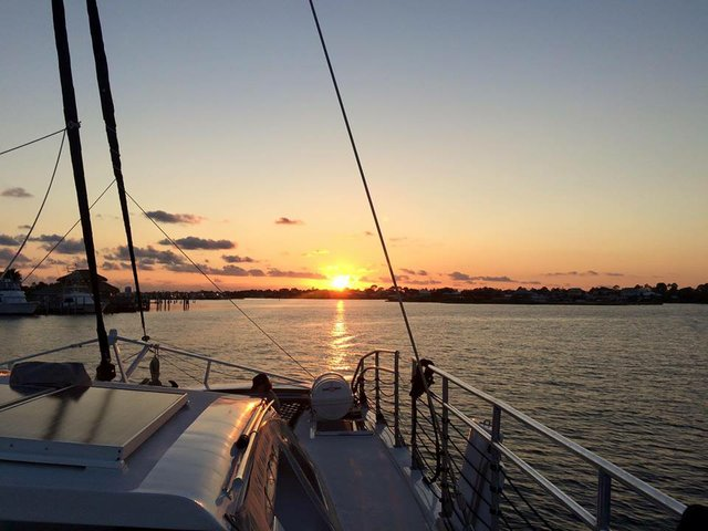 Sunset cruise with Sail Wild Hearts