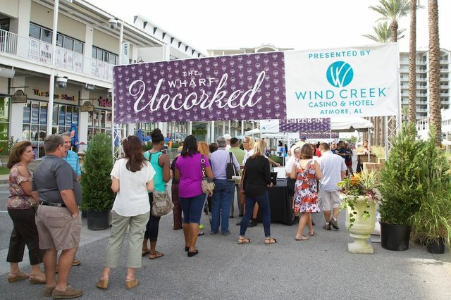 Wharf Uncorked entrance 2015