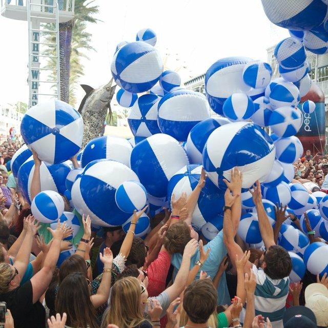 Pepsi Beach Ball Drop at The Wharf in Orange Beach, AL