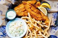 The Hangout Fried Fish Dish