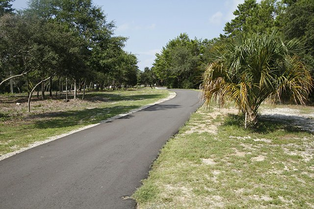 Fort Morgan Road Running Trail in Gulf Shores, AL