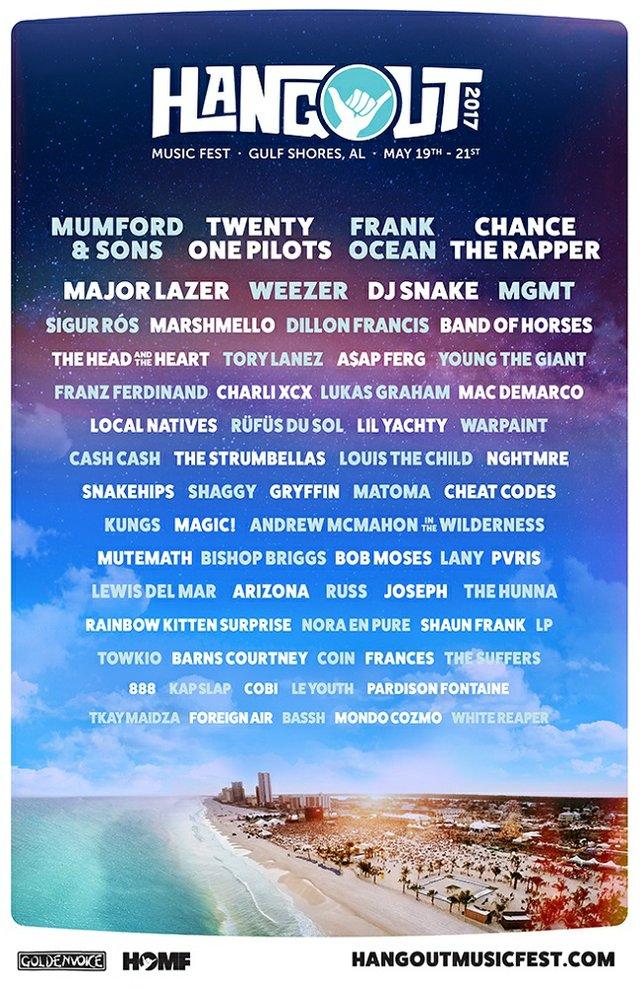 Hangout Music Festival Lineup