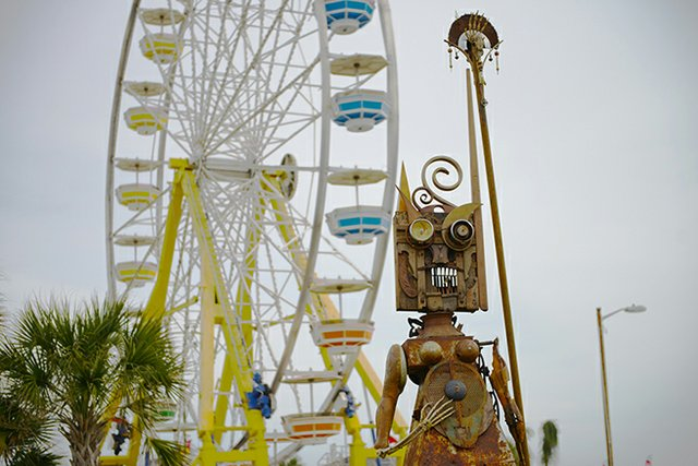 Hangout Music Festival Ferris Wheel