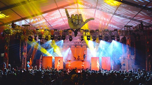 Hangout Music Festival party