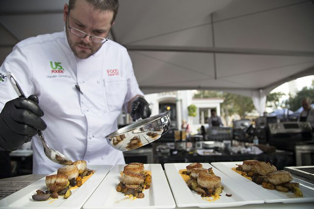 World Food Championships in Orange Beach