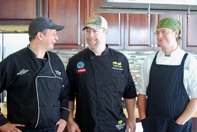 Wharf Uncorked Chefs.
