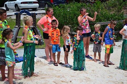 Beach Games at Tacky Jacks in Gulf Shores, AL