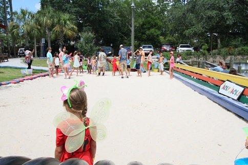 Beach Games at Tacky Jacks Gulf Shores   July 6, 2017