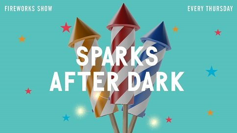 Sparks After Dark at The Wharf in Orange Beach