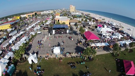 Annual National Shrimp Festival in Gulf Shores