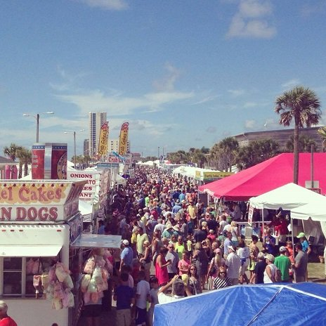 Annual National Shrimp Festival in Gulf Shores, Alabama